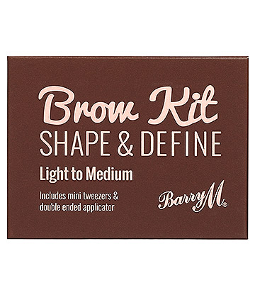 Barry M Brow Shape & Define Kit (Light - Medium)