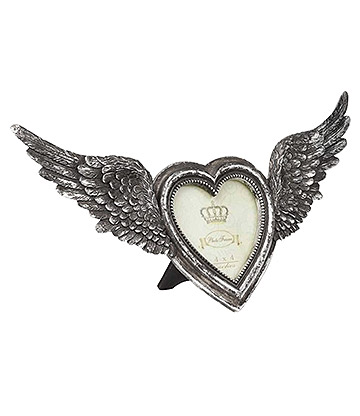 Alchemy Winged Heart Photo Frame