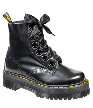 Dr Martens Molly Quad Boots (Black)