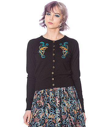 Banned Liberty Dragon Cardigan (Multicoloured)