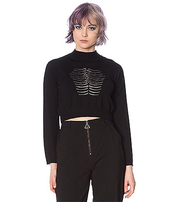 Banned Fossil Jumper (Black)