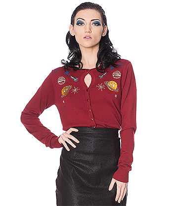 Banned Space Vamp Cardigan (Red)