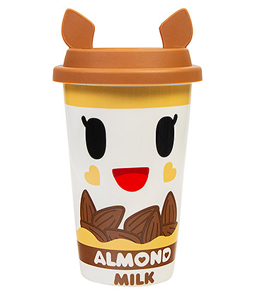 Tokidoki Almondina Travel Mug (White/Brown)