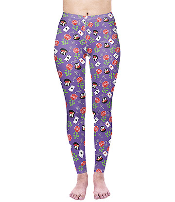 Kukubird Wonderland Leggings (Multicoloured)