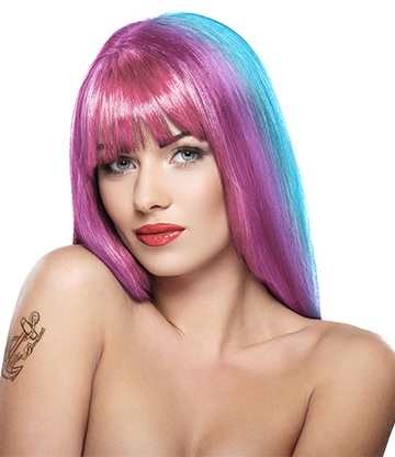 Stargazer Yummy Colour 4 Strips Hair Dye Kit (Pastel Pink)