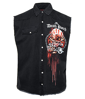 Spiral Direct x 5FDP Assassin Sleeveless Shirt (Black)