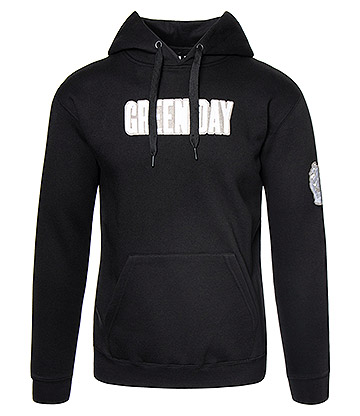 Official Green Day Logo & Grenade Hoodie (Black)