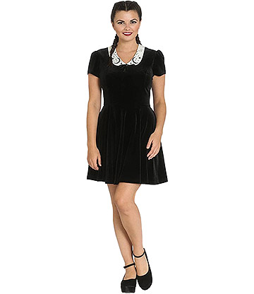 Hell Bunny Interstellar Mini Dress (Black)