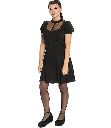 Hell Bunny Elana Dress (Black)