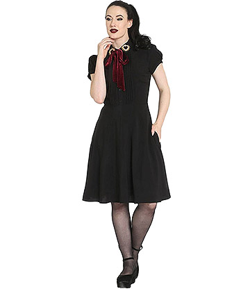 Hell Bunny Madonna Dress (Black)