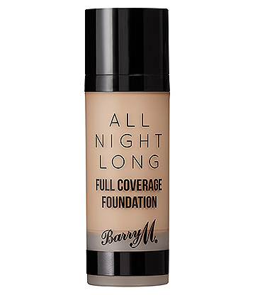 Barry M All Night Long Full Coverage Liquid Foundation (Oatmeal)