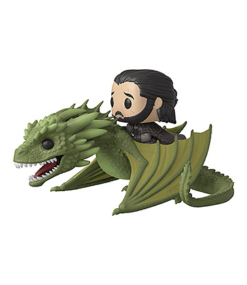 Funko Pop! Game Of Thrones Jon Riding Rhaegal Vinyl Figure