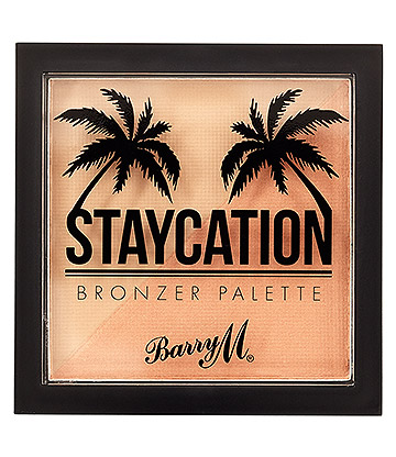 Barry M Staycation Bronzer Palette (Matte & Shimmer)