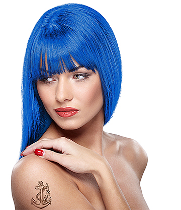 Headshot Semi-Permanent Hair Dye 150ml (Bluecifer)