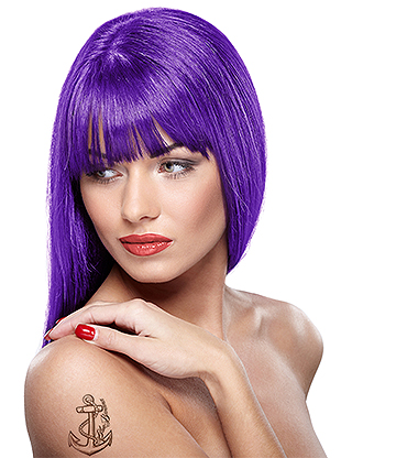 Headshot Semi-Permanent Hair Dye 150ml (Psycho Purple)
