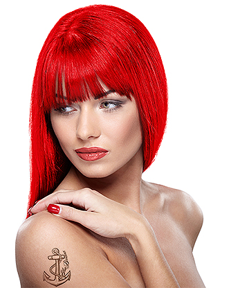 Headshot Semi-Permanent Hair Dye 150ml (Hellfire Red)