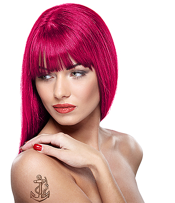 Headshot Semi-Permanent Hair Dye 150ml (Blood Berry Pink)