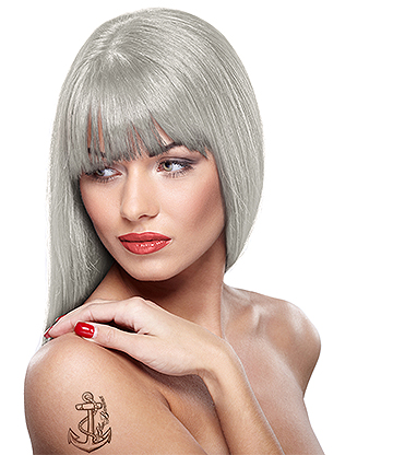 Headshot Semi-Permanent Hair Dye 150ml (Grey Skull)