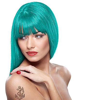 Headshot Semi-Permanent Hair Dye 150ml (Turquoise Terror)