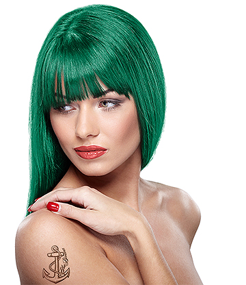 Headshot Semi-Permanent Hair Dye 150ml (Toxic Absinth Green)