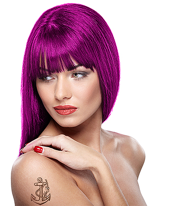 Headshot Semi-Permanent Hair Dye 150ml (Bizarre Burgundy)