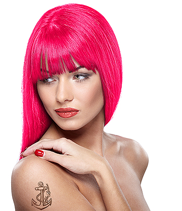 Headshot Semi-Permanent Hair Dye 150ml (Panic Pink)