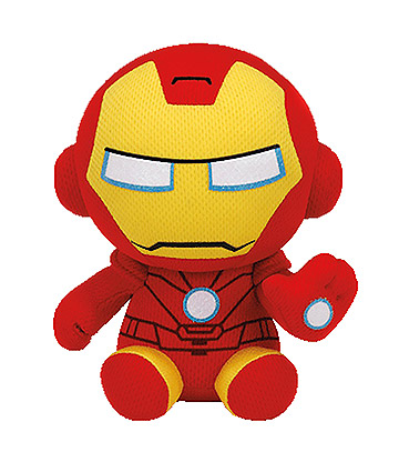 Ty Marvel Iron Man Beanie Baby (Red)