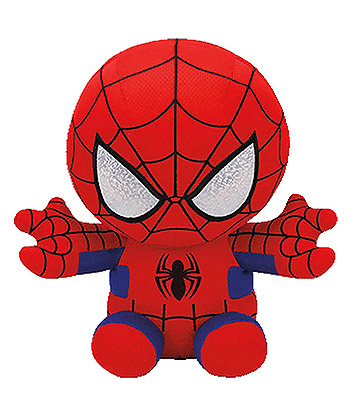 Ty Marvel Spiderman Beanie Baby (Red)