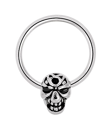 Blue Banana Single Skull Steel 1.6mm BCR