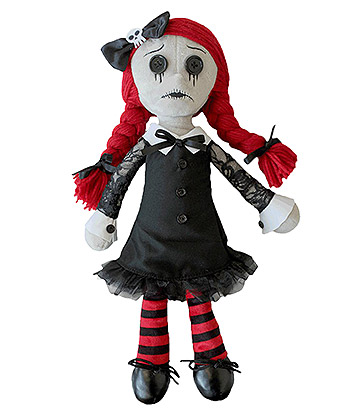 Spiral Direct Luna Goth Rag Doll