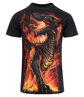 Spiral Direct Draconis T Shirt (Black)