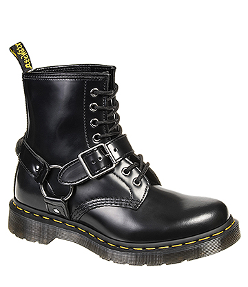 Dr Martens 1460 Harness Boots (Black)
