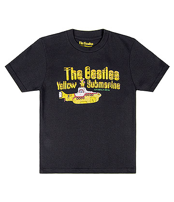 Official The Beatles Nothing Is Real Kids T Shirt (Black)