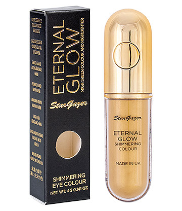 Stargazer Eternal Glow Eye Shadow & Highlighter (Light Gold)
