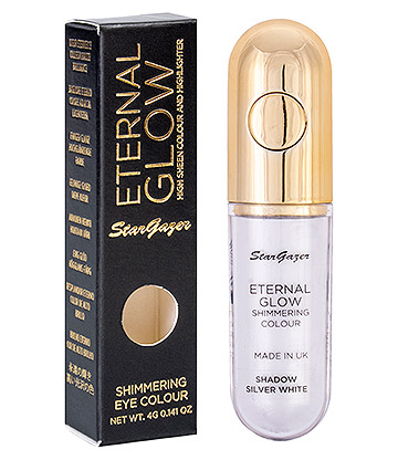 Stargazer Eternal Glow Eye Shadow & Highlighter (Silver White)