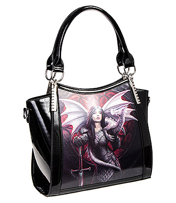 Anne Stokes Valour 3D Handbag (Black)