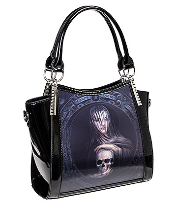 Anne Stokes Beyond The Veil 3D Handbag (Black)