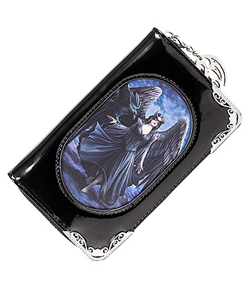 Anne Stokes Raven 3D Purse (Black)