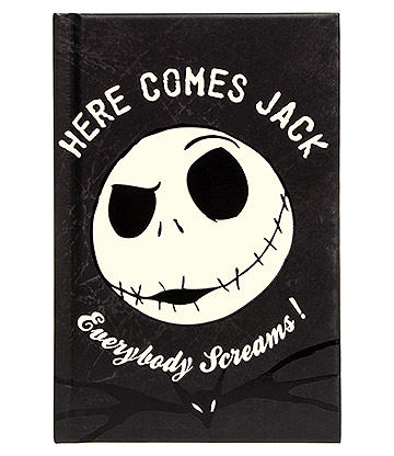 Nightmare Before Christmas Jack Glow in the Dark Pocket Notebook