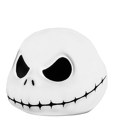 Nightmare Before Christmas Jack Skellington Lamp (White)