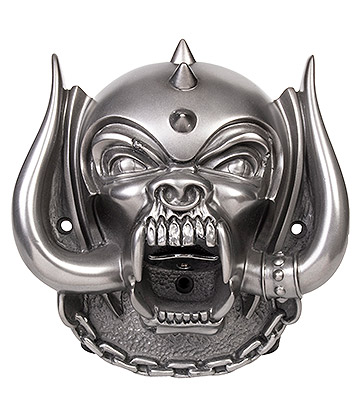 Beer Buddies Motorhead Snaggletooth Wall Mounted Bottle Opener (Silver)