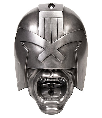 Beer Buddies Judge Dredd Wall Mounted Bottle Opener (Silver)