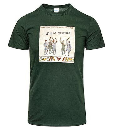 Hysterical Heritage Clubbing T Shirt (Green)