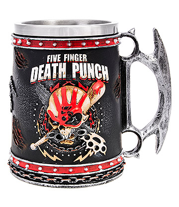 Nemesis Now Five Finger Death Punch Tankard (15cm)