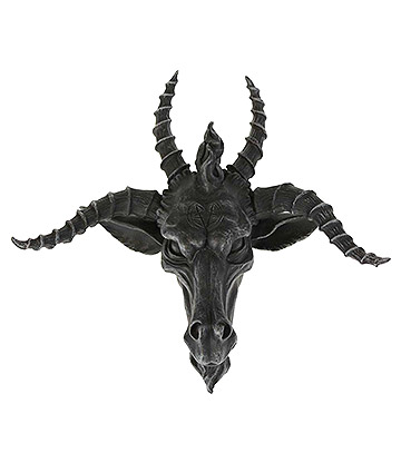 Nemesis Now Goat Of Mendes Wall Statue (Black)