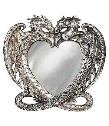 Alchemy Dragon's Heart Mirror (Silver)