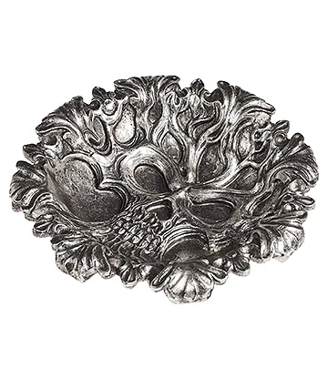 Alchemy Tree Of Death Bowl (Silver)