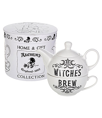 Alchemy Witches Brew Tea Set (White)