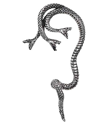 Alchemy Gothic Khthonis Ear Wrap (Silver)