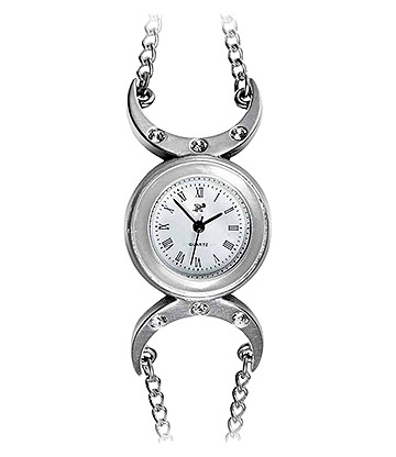 Alchemy Gothic Triple Goddess Wrist Watch